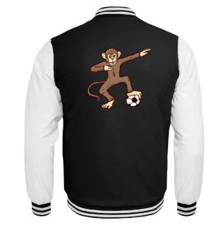 Fußball Affe Dab Shirt