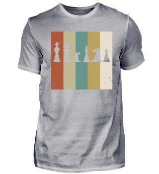 Schach - Spieler - Vintage - Retro