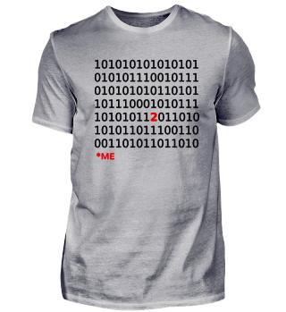 Sonderling Binärcode Nerd Unikate Geek