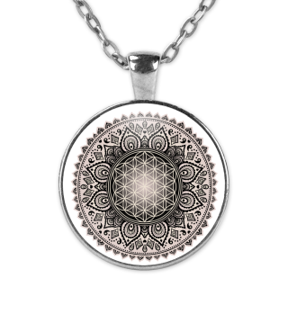 FLOWER OF LIFE Folklore Mandala 3 KETTE