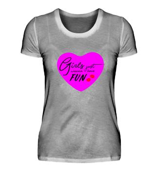 Girls just wanna have fun (JGA, Braut)