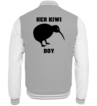 Kiwi Boy Collegejacke Partnerlook