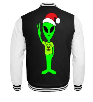 Peace Alien - Santa Claus Rudolph 2