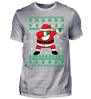 Dabbing Santa Claus Christmas Holidays