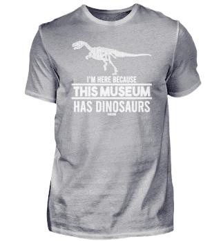 funny dinosaur museum award