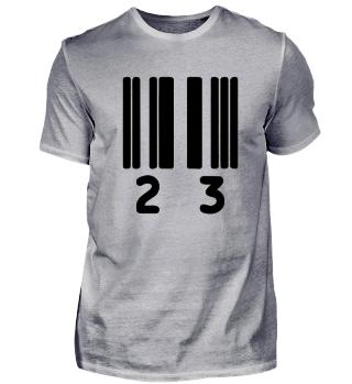 barcode 23