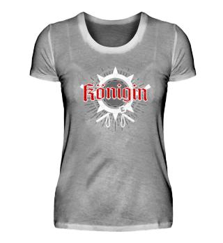 Königin - Design - T-Shirt Geschenk