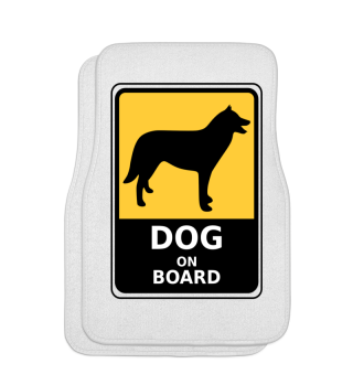 Automattenset Dog on Board