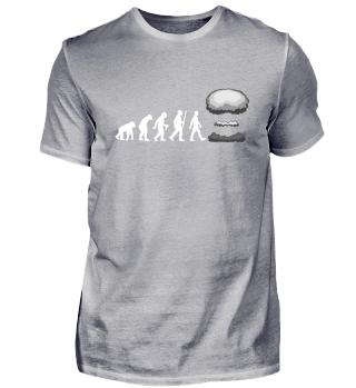 Evolution Of Humans - mushroom cloud II