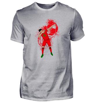 Marokko Fußball Fußballspieler Dab