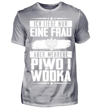 Ich liebe nur eine Frau Piwo i Wodka