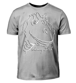 Tyrannosaurus Mag Dich - weiss