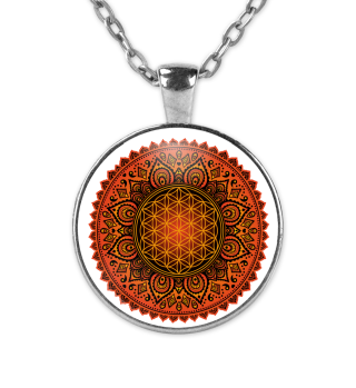 FLOWER OF LIFE Folklore Mandala I KETTE