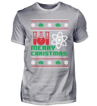 Funny Chemistry Shirt Merry Christmas