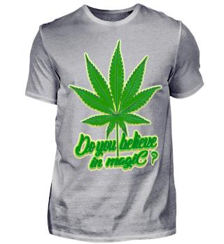 Herren Kurzarm T-Shirt Do You Believe In Magic ? Ramirez