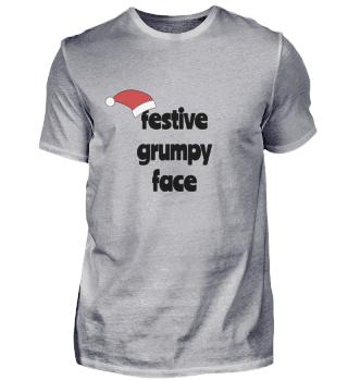 Festive Grumpy Face III