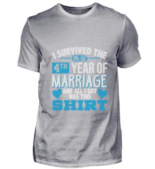 Ich habe das 4. Jahr der Ehe überlebt T-