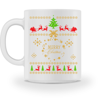 UGLY CHRISTMAS DESIGN - STRICKMUSTER #7.7