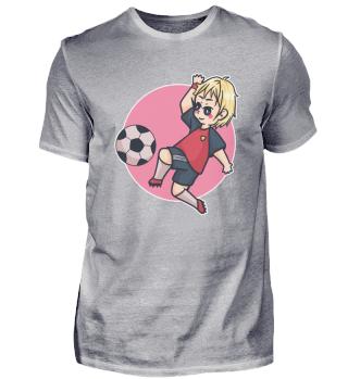 Junge Stürmer Fussball Spielmacher Sport