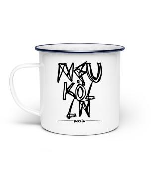 Neukölln - Berlin - Enamel Mug