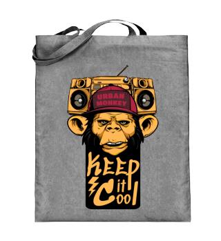 Einkaufstasche Urban Monkey Ramirez