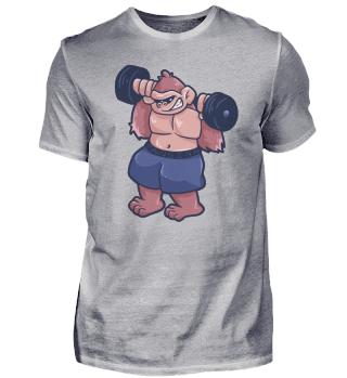 Gorilla Monkey Fitness Gym Workout gift