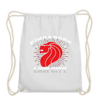 Elegant Lion City Singapore T-shirt