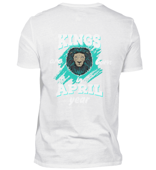 kings are born in april back