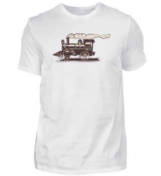 locomotive railway steam locomotive trai