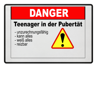 Teenager in der Pubertät