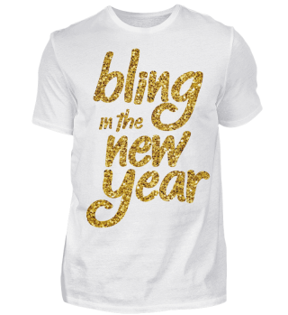 BLING IN THE NEW YEAR T-SHIRT