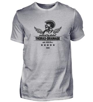 Thorax-Dainage (schwarz)