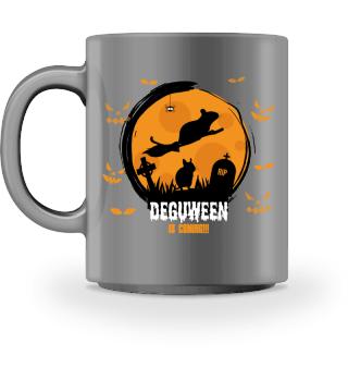 DEGUS DEGUWEEN | Halloween Mug