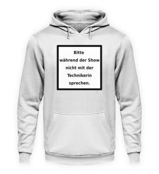 Warnhinweis Technikerin - lustig - III