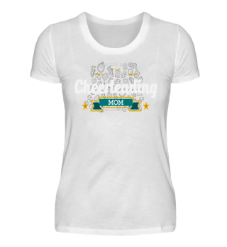 CHEERLEADING MOM