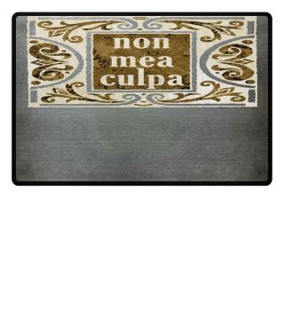 ★ Non Mea Culpa - vintage II