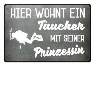 TAUCHER PRINZESSIN - FUSSMATTE