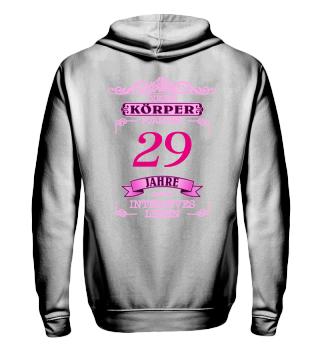 Geburtstag - Intensives Leben - pink