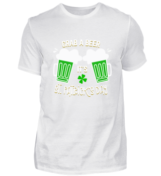 Grab a Beer It's St. Patrick's Day