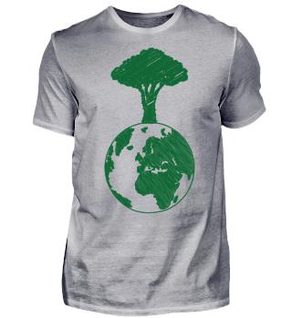 Earth Day Erde Baum