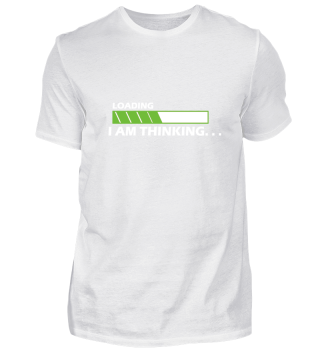 Awesome Geek Shirt - THINKING PROGRESS