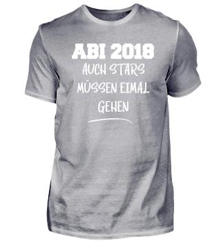 ABI 2018 Auch Stars müssen einmal gehen