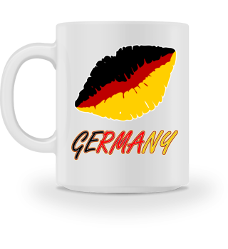 Deutschland-Kuss! Tolle Geschenkidee!