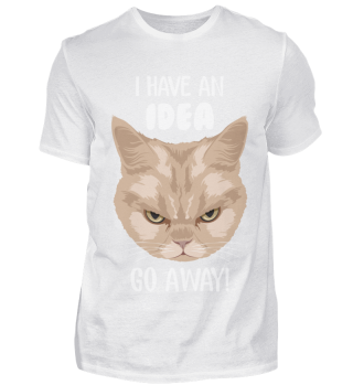 D007-0070B Grumpy Cat - I have an idea G