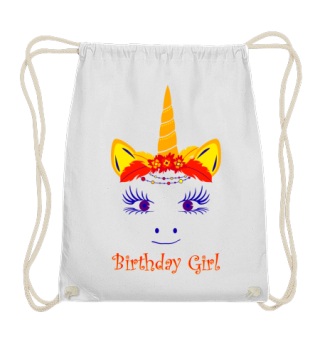 ♥ Cute Unicorn Boho Chic Birthday Girl 2