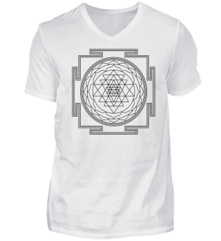 SRI YANTRA - luck prosperity I - black