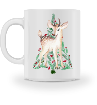 ♥ MERRY CHRISTMAS · DEER #6AT