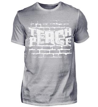Teach Peace (Bricks)