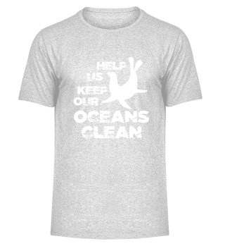 Help us clean up the ocean.