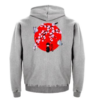 ♥ Cherry Blossom Japanese Character 11